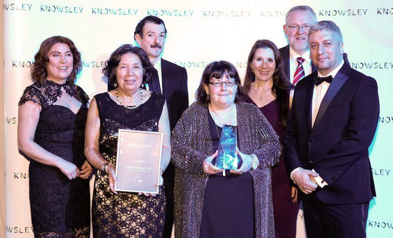 Villages Housing Trust team with their CSR Award