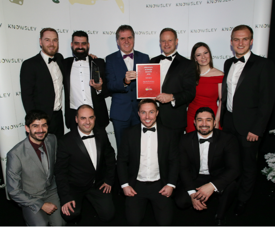 Applied Nutrition winners of High Growth Business of the Year